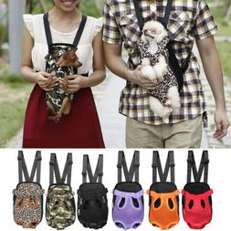 Dog Cat Nylon Pet Puppy Carrier Backpack Front Tote Carrier