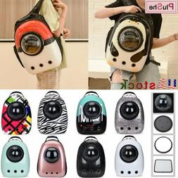 Dog Cat Pet carrier Travel Bag Space Capsule Backpack For Sm