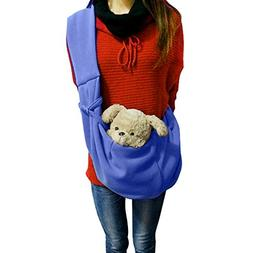 FakeFace Small Dog Cat Sling Carrier Bag Travel Tote Soft Co