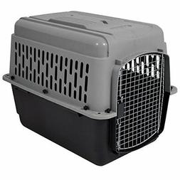 Dog Crate Cage Carrier 30-50 lbs Travel Plastic Airline Appr