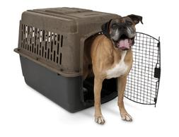 Dog Crate Carrier Kennel Camouflage Pet Porter Plastic Steel