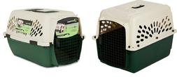 Dog Crate Carrier Kennel Cat Pet Porter Plastic Steel Vet Tr