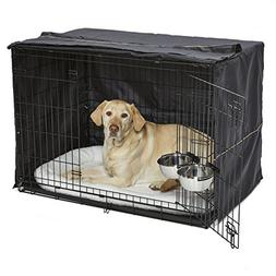 iCrate Dog Crate Starter Kit | 42-Inch Dog Crate Kit Ideal f