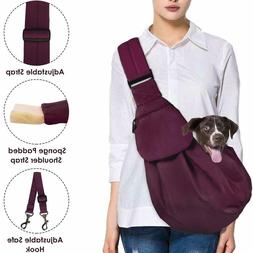 Dog Padded Papoose Sling, Small Pet Sling Carrier Hands Free