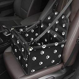 Travel Dog Pet Car Booster Seat Genorth Collapsible Safety C