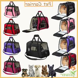 dog pet small cat carrier soft sided