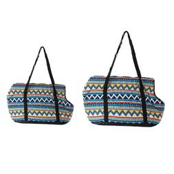 Dog Puppy Cat Carrier Portable Tote Bag Handbag for Small Pe