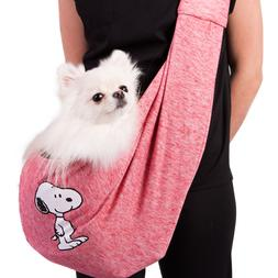 Dog Sling Carrier for Small Snoopy Peanuts Puppy Pet Front P