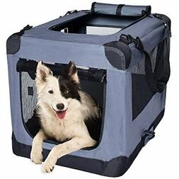Dog Soft Crate 36 Inch Kennel for Pet Indoor Home Outdoor Us