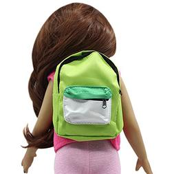 callm Doll Accessory,Double Straps Backpack Schoolbag for Al