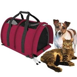 Sturdi Products Double Sided Divided Pet Carrier, Large, Bor