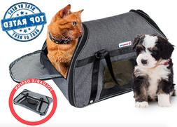 DreamyPup Soft Pet Carrier   Small Dogs & Cats - TSA Airline