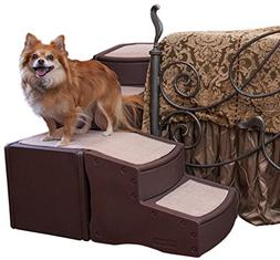 Pet Gear Easy Step Bed Stair for Cats/Dogs with Storage Comp