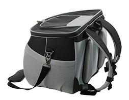 One for Pets The EVA Pet Carrier Backpack, Large, Black
