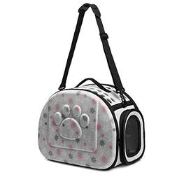 CORALTEA EVA Cute Portable Collapsible for Pets of Medium Si