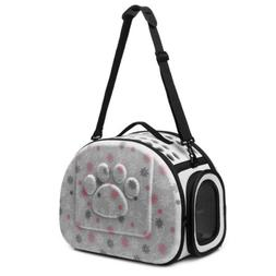 Coraltea EVA Pet Cat Dog Carrier Airline Approved Outdoor Un