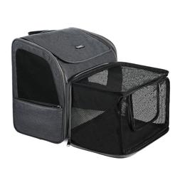 Expandable Breathable Travel Outdoor Pet Dog Carrier Safe Ba
