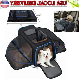 expandable pet carrier airline approved for cats