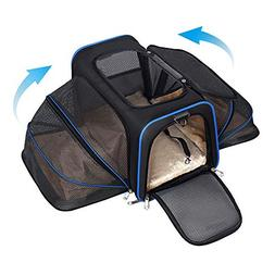 expandable pet carrier dogs cats