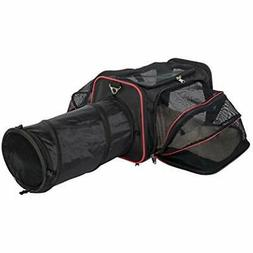 Expandable Pet Carrier with Tunnel by Pet Peppy - Patent Pen