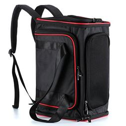 OKBUYNOW Extendable Pet Carrier Soft-Sided Travel 6-in-1 Bac