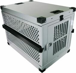 Extreme Rugged XL Folding Dog Crate - Heavy Duty Collapsible