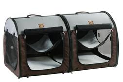 fabric portable kennel