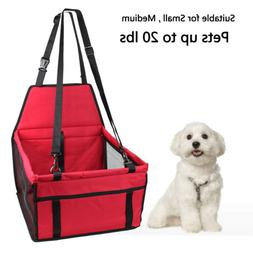 foldable pet booster seat car seat carrier