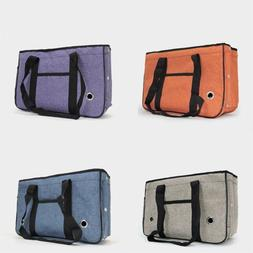 Folding Puppy Dog Carrier Breathable Pet Travel Tote Outdoor