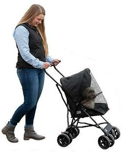 Folding Travel Pet Stroller Small Cats Dogs Carrier Jogger L
