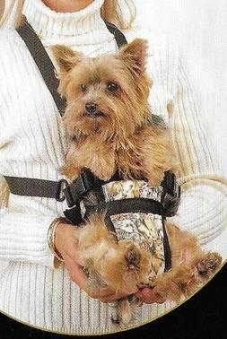 Front Facing-Puppy or Small Dog-Hands Free Carrier Pouch -Bl