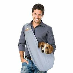 FurryFido Reversible Pet Sling Carrier for Cats Or Dogs up t