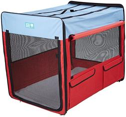 Guardian Gear Collapsible Folding Soft Portable Dog Crate XL