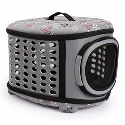 Gomaomi Collapsible Dog Bag Pet Carrier House With Hard Cove