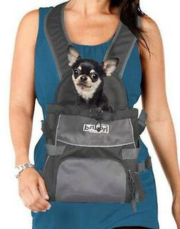 hands free dog carrier front backpack back