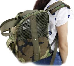 Heavy Duty Backpack Dog Carrier For Small Dogs Military Grad