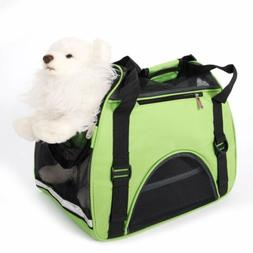 Hollow-out Pet Handbag Breathable Dog Carrier Travel Carry B
