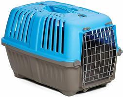 """19"""" Portable Pet Travel Carrier Crate Tote Box Plastic Cat S"""