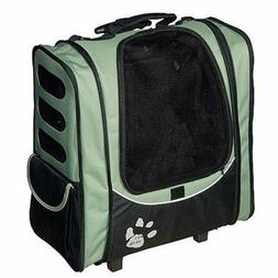 I-GO2 Escort Pet Carrier Cat/Dog. Carrier-Car Seat-Backpack-