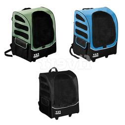 Pet Gear I-GO2 Roller Backpack, Travel Carrier, Car Seat for