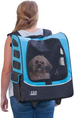 I-GO2 Roller Backpack Travel Carrier Car Seat for Cats/Dogs