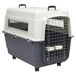Kennels Direct Premium Plastic Dog Kennel and Travel Crate,