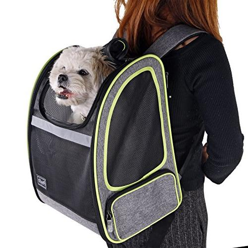 Petsfit Inches Comfort Dogs Carriers Backpack Cat for A Hiking, Traveling