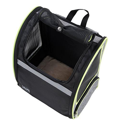 Petsfit 17.3''H13''W10.6''L Dogs Backpack Cat Dog, Go for Traveling Cycling