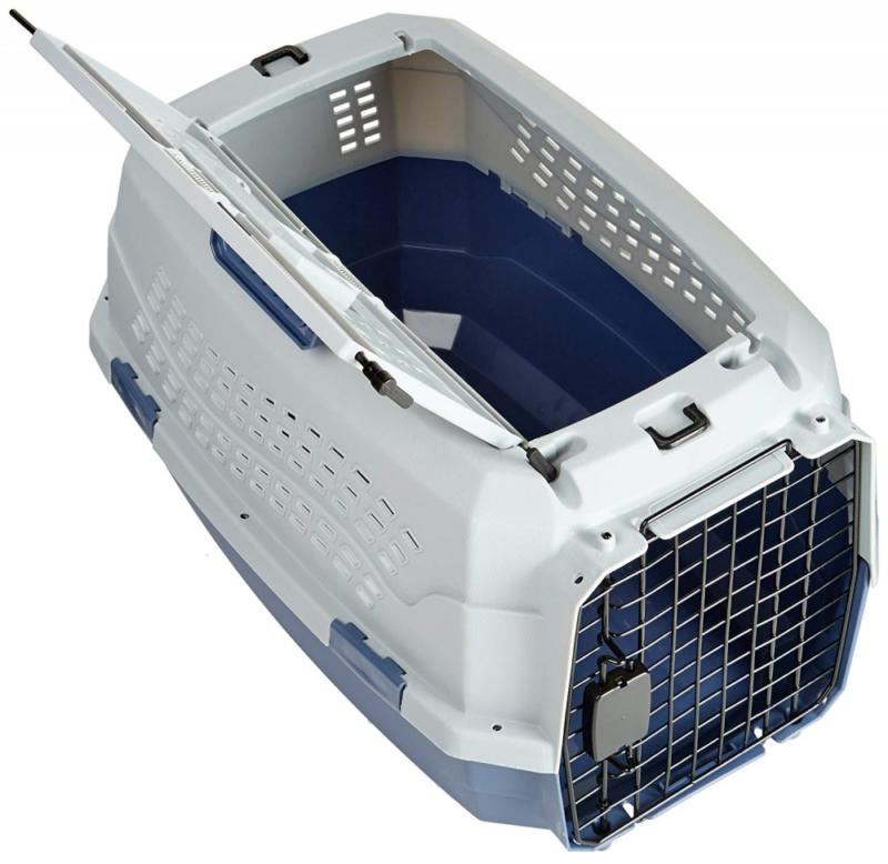 "23"" Load Kennel Carrier Travel Cage Dog Puppy Small"