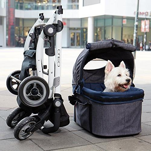 Stroller for Dogs – 3-in-1 Car in for Travel or and Cats Suspension