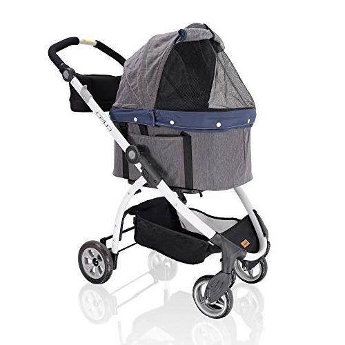 4 wheel dog stroller for dogs 3