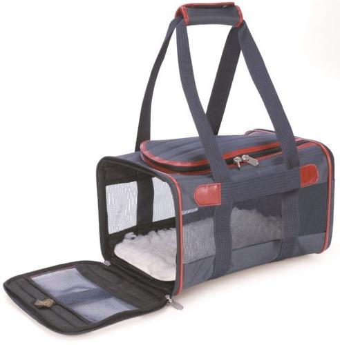 Sherpa 55534 Deluxe Pet Carrier With Trim