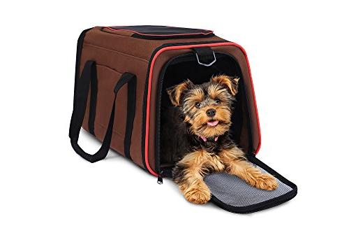 Blu & Merle Easy Carry Soft Sided Airline Approved Pet Carri
