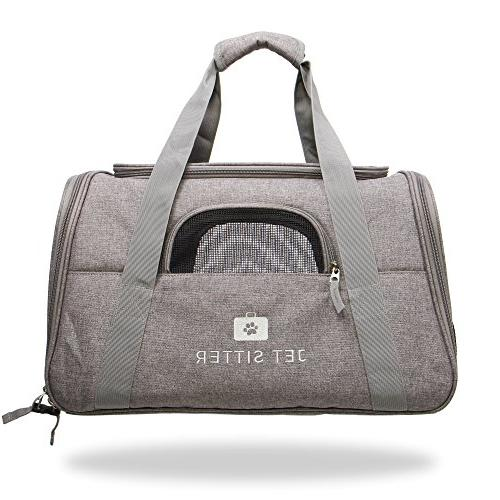 Jet Airline Approved Pet Carrier Bag TSA Travel Small